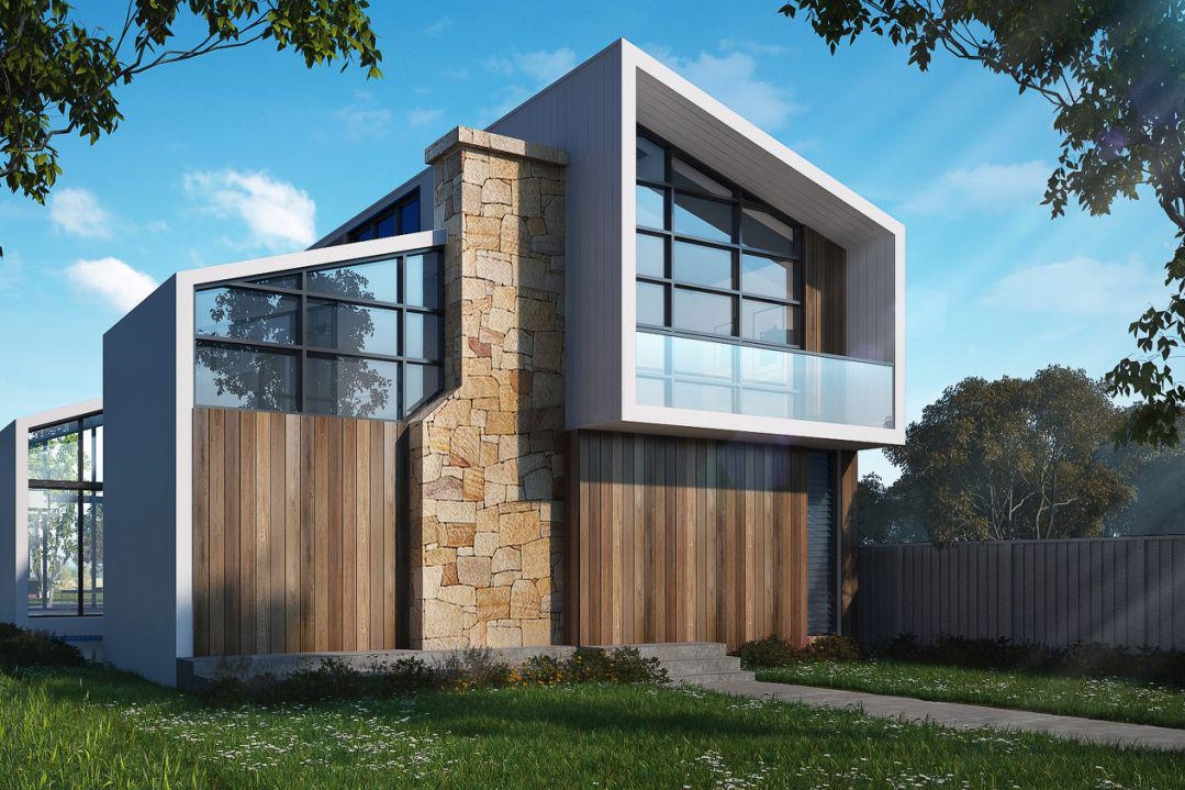 Exterior-modern-house-3d-visual
