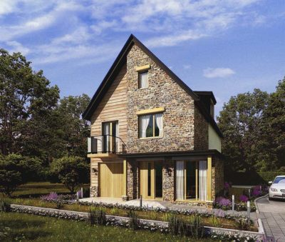 3d rendering cottage style home